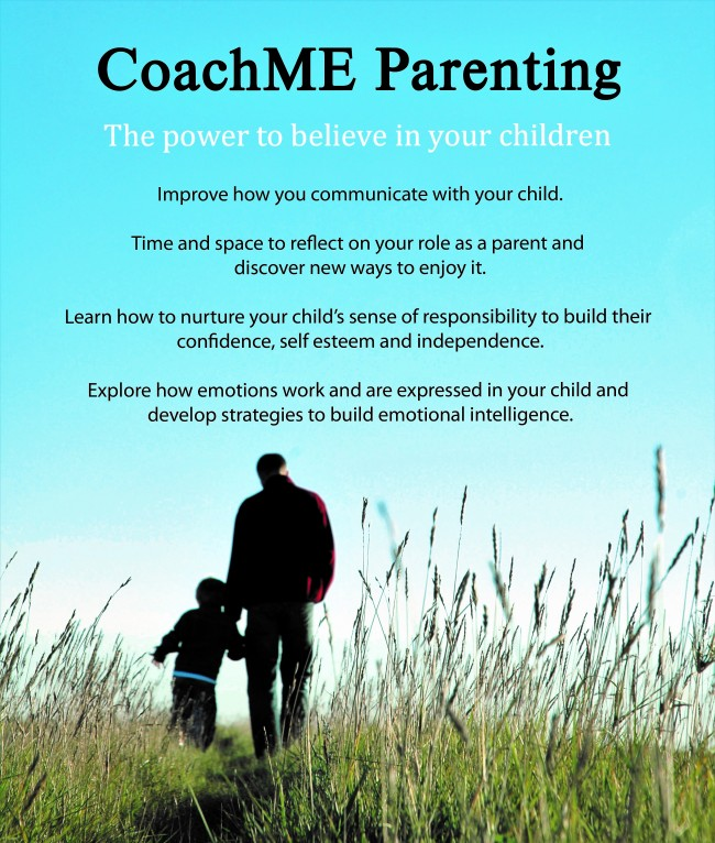 CoachME Parenting Flyer