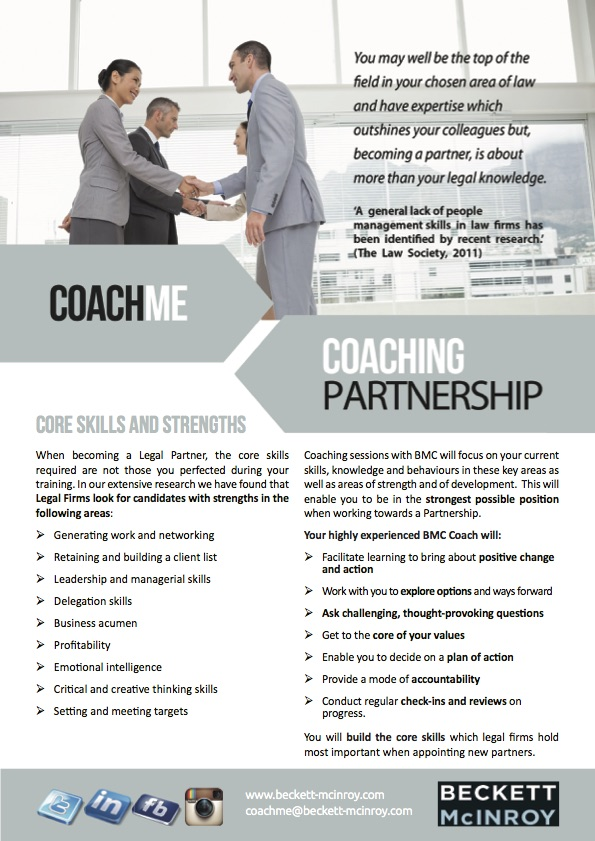 CoachME Partnership